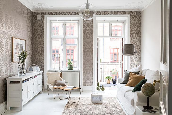 Traditional Scandinavian design in Gothenburg 〛 ◾ Фото ◾Идеи .