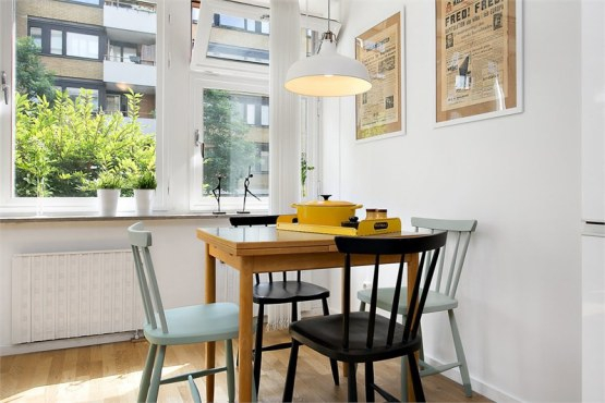 Stylish small apartment in classic Nordic style – Adorable Ho