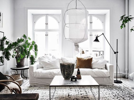 A classic nordic style apartme