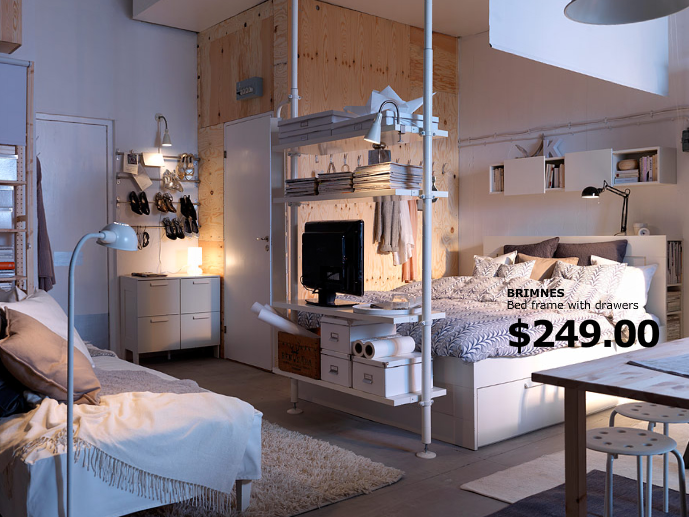 7 trucs pour optimiser les petits espaces - Je Décore | Apartment .