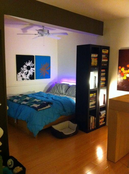Studio apartment | Apartment bedroom decor, Apartment decor, Small .