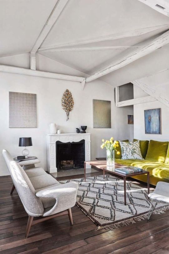 Eclectic Features of a Beautiful Apartment Interior Décor-Interior .