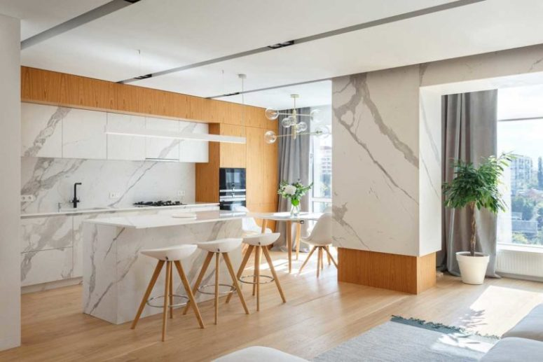 Contemporary Apartment Focusing On The Kids - DigsDi
