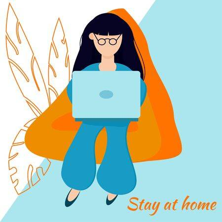 Stay At Home, Create Comfortable Conditions For Online Work .