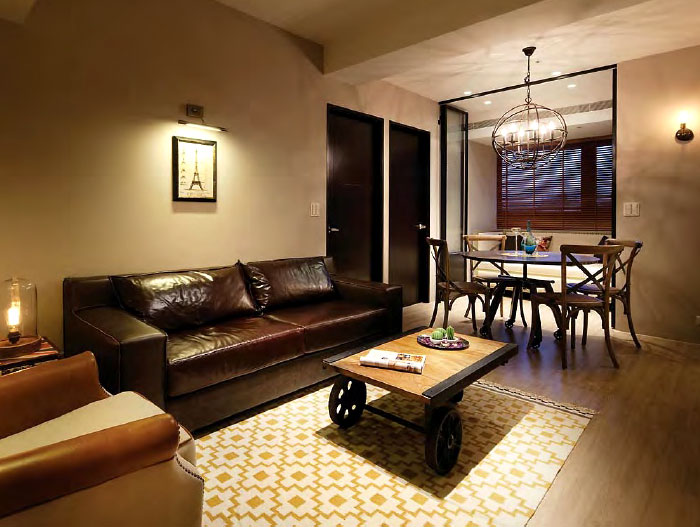 Modern Rustic Apartment by Studio Oj - InteriorZi
