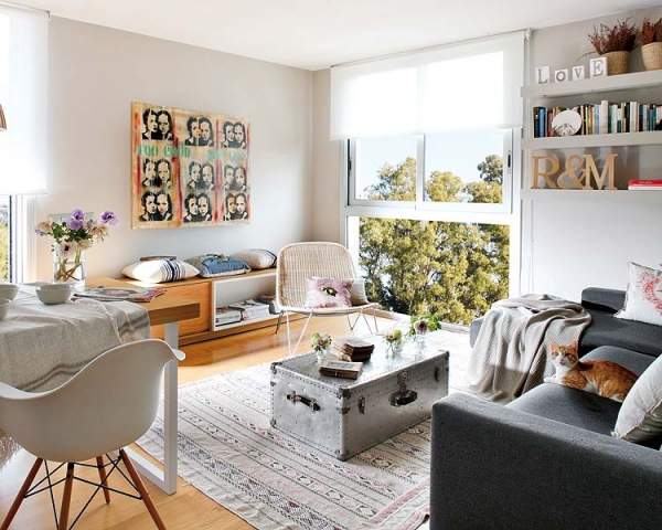 Shabby-chic apartment design – Adorable Ho