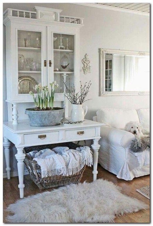 Swedish Decor Inspiration for Small Apartment | Shabby chic living .
