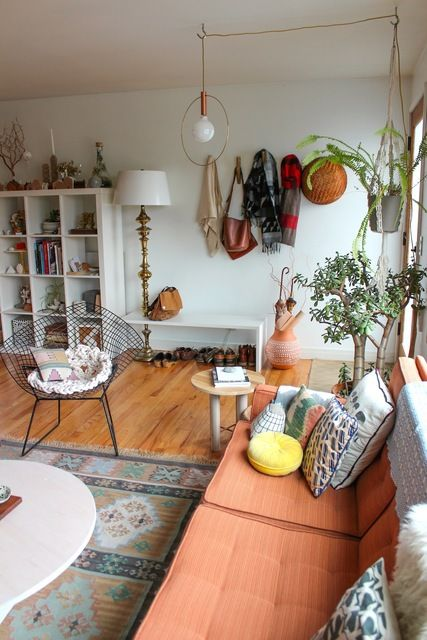 The Duplex, Right Side: Jean & Dylan's Playful, Working Hideaway .