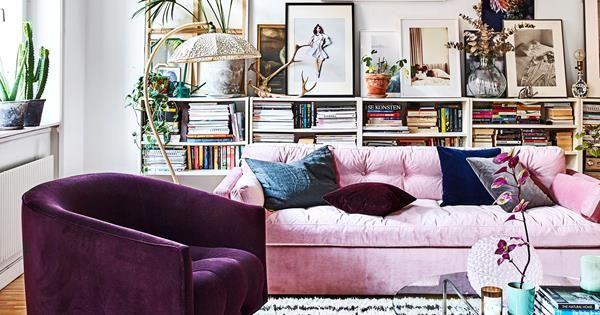 A modern-boho apartment with an international feel | Sleek .