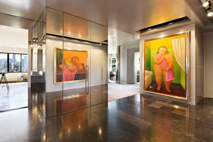 Fernando Botero Lists New York Home and Art Studio - W