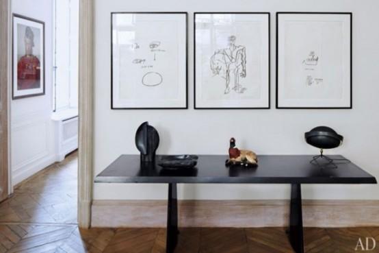 Mid-Century Modern Art-Filled Apartment - DigsDi