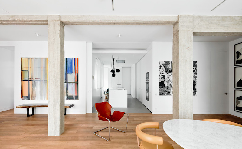 The Perfect Home And Art Gallery Combo Revealed Inside This Apartme