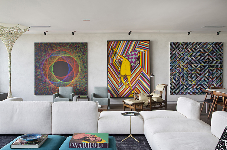 Step Inside This Brazilian Apartment Filled With Modern A