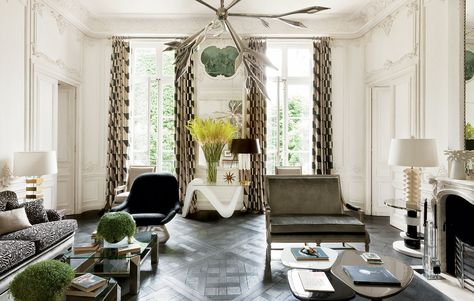 Light & Levity in a Historic Apartment (With images)   Luxury .