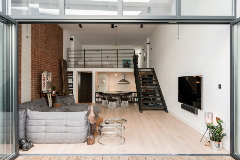 Loft Apartments with an Industrial Factory Feel in Northbourne, Lond