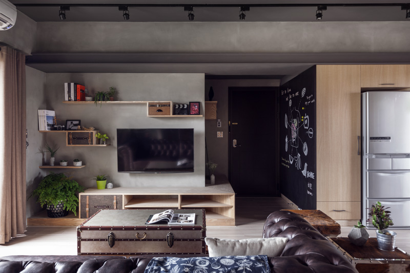 Apartment with industrial feel in Taiwan @ ShockBla