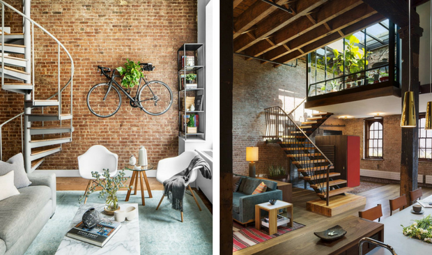 Feel Inspired With These New York Industrial Lof