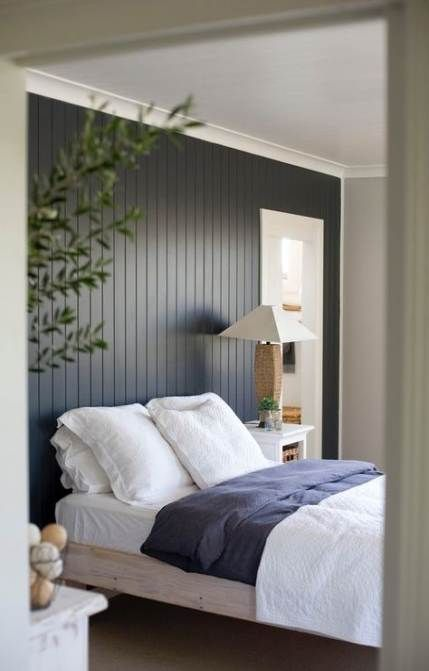 Painting wood paneling apartment therapy 20 Trendy Ideas | Bedroom .
