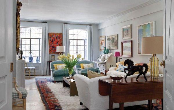Art Deco Apartment in the El Dorado | Remodelaholic | Shabby chic .