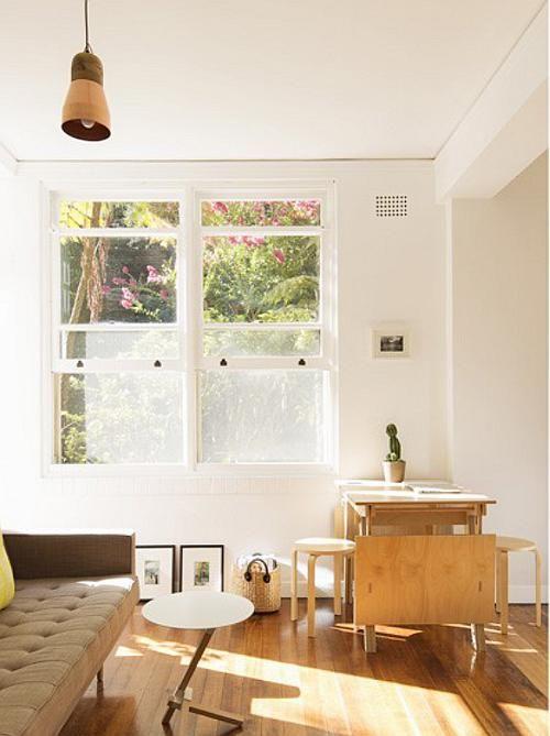 Big ideas for a small Art Deco apartment - desire to inspire .