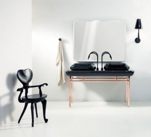 Chair Bathroom art deco style with luxury furniture | Art deco .