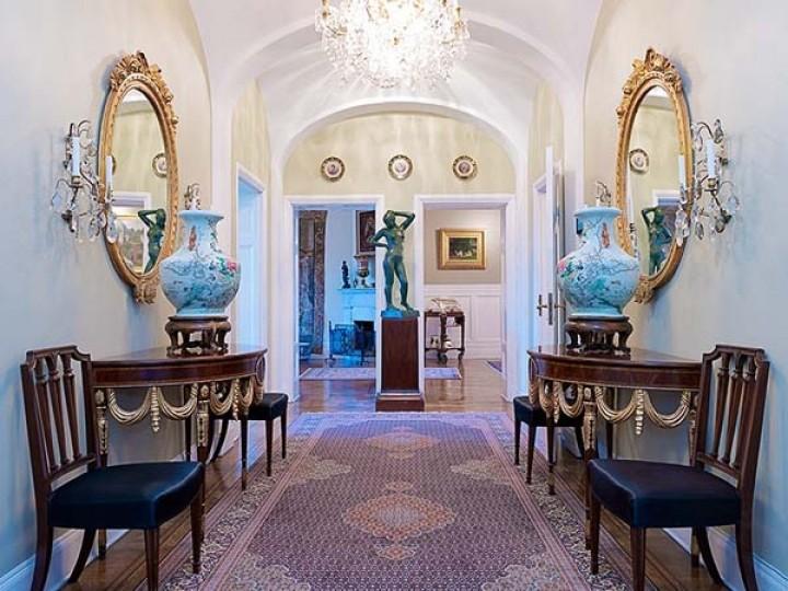 Art Nouveau Apartment With Gorgeous Details And A Modern Floor .