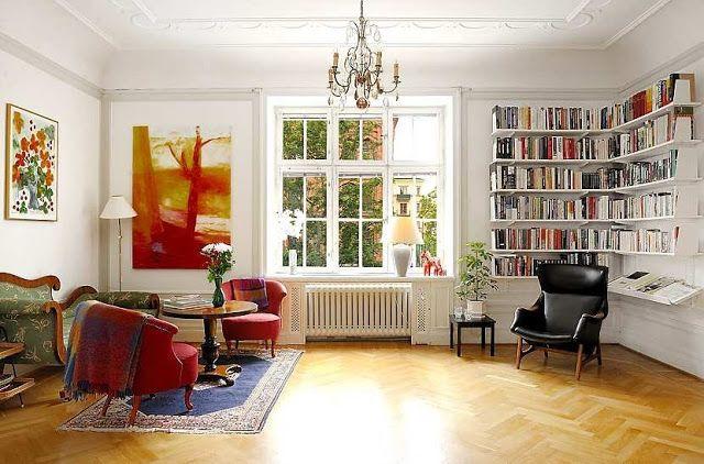 Art Nouveau Apartment in Sweden | Interior Design Files | Interior .