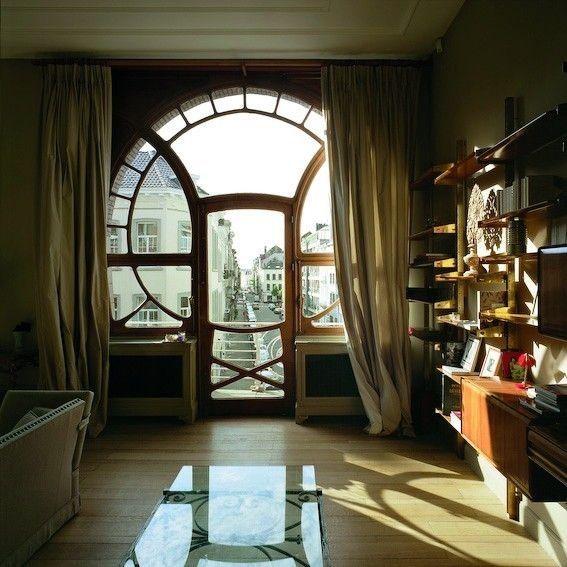 SET DECO — VICTOR HORTA, Art Nouveau Apartment , Brussels .