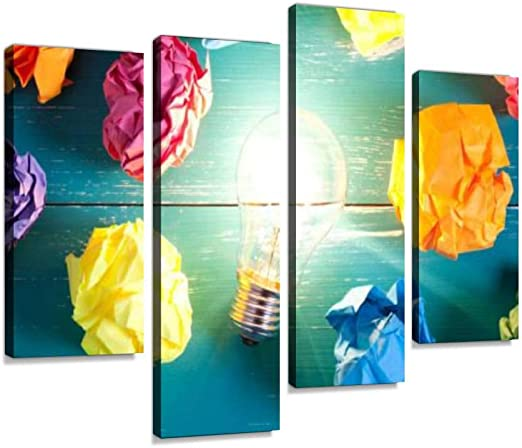 Amazon.com: Incandescent Bulb and Colorful Notes on Turquoise .