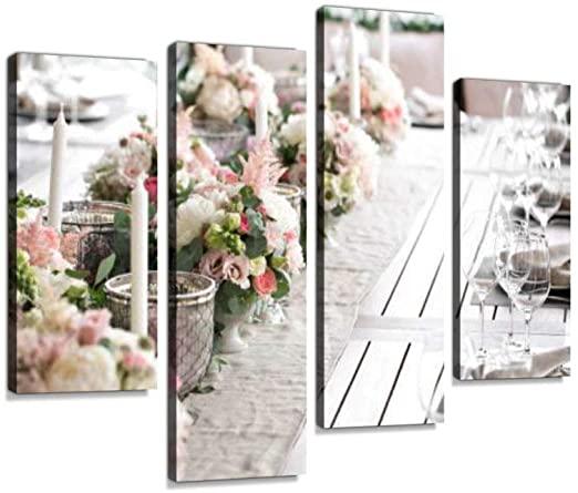 Amazon.com: Luxury, Elegant Wedding Reception Table Arrangement .