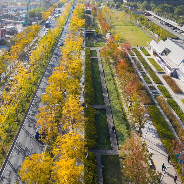 Sasaki - Xuhui Runway Park, an innovative urban revitalization proje