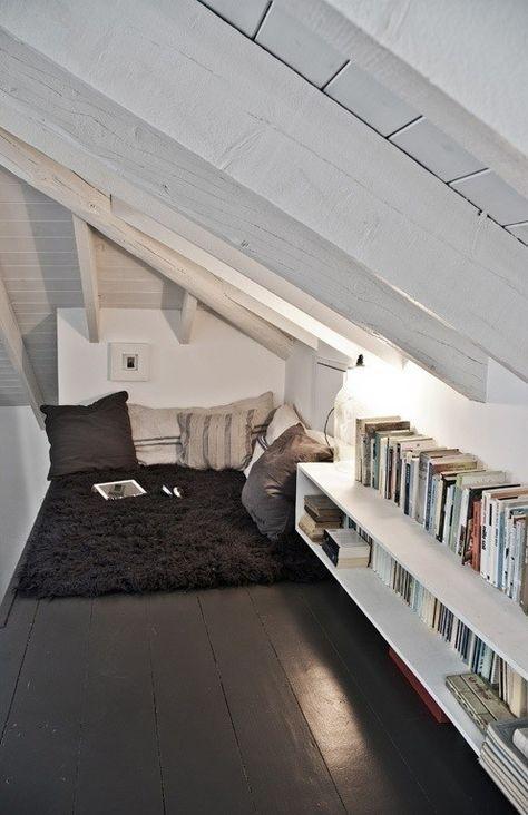 15+ Inspiring Attic Bedroom Ideas   Attic bedroom small, Attic .