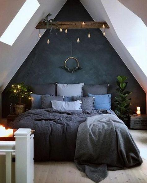 50+ Loft Bedroom Ideas_19   Bedroom design, Home, Bedroom inspiratio