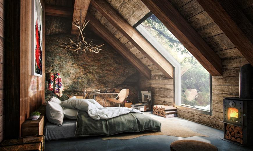 Comfortable and Cozy: 30 Attic Apartment Inspiratio