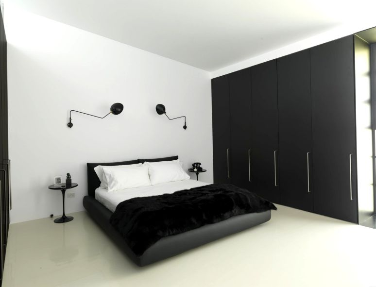 15 Awesome Black and White Bedroom Design Ideas For Best Your .