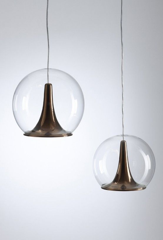25 Awesome Copper Furniture Pieces And Lamps   DigsDigs   Lighting .