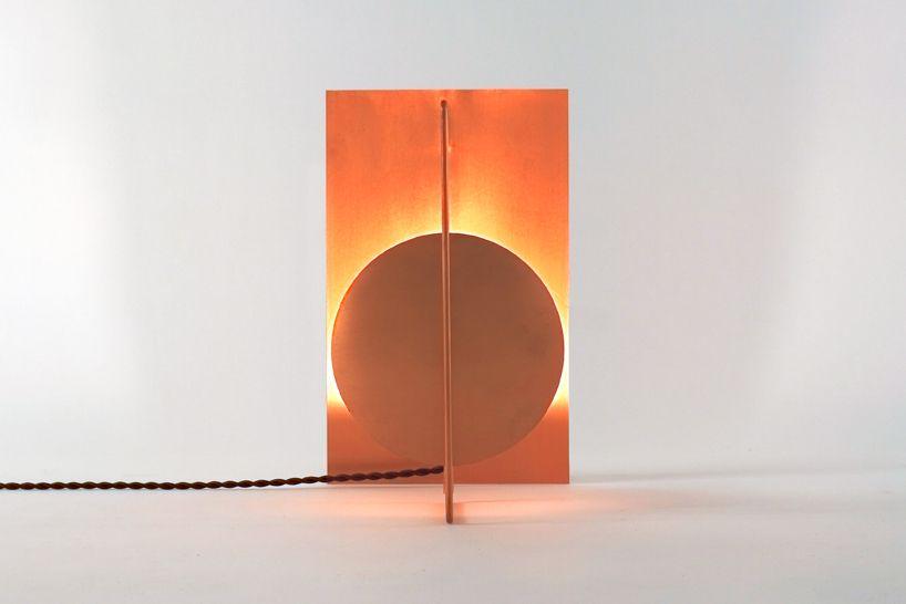 kyouei design: dish of light   Copper lighting, Copper light .