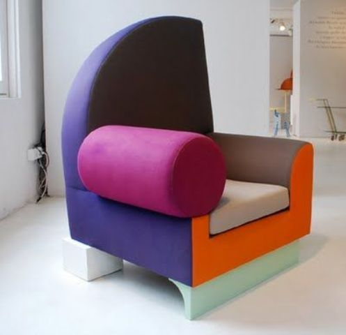 50 Awesome Creative Chair Designs (With images) | Memphis design .