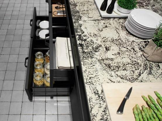 Awesome Dark Metal Kitchen By Minacciolo - DigsDi
