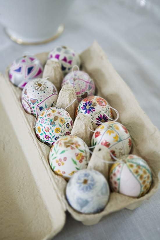 48 Awesome Eggs Decoration Ideas For Your Easter Table - DigsDi