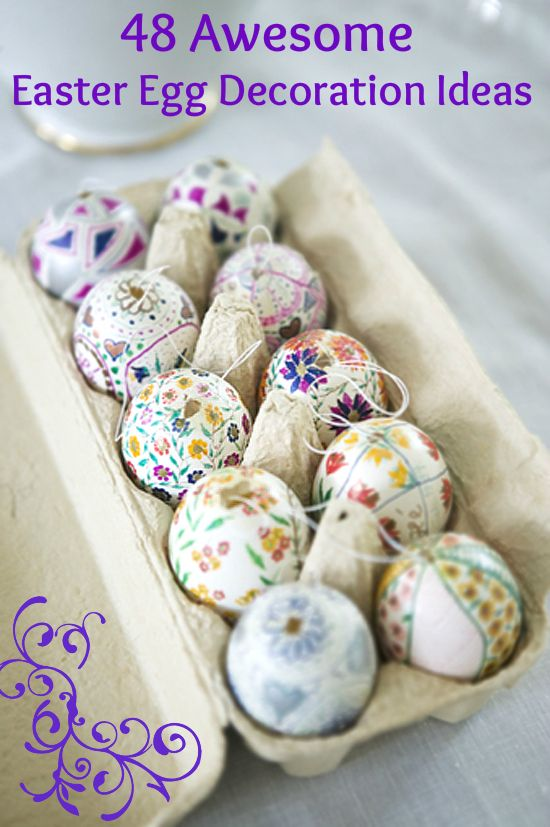 48 Awesome Easter Egg Decoration Ideas For Your Easter Table .