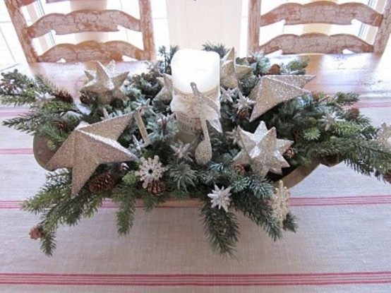 christmas table centerpiece Archives - DigsDi
