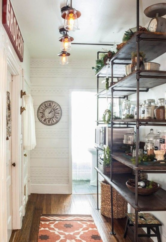 30 Awesome Industrial Shelves And Racks For Any Space | Modern .