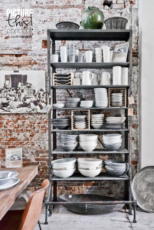 30 Awesome Industrial Shelves And Racks For Any Space | Cocina .