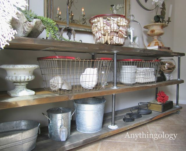 30 Awesome Industrial Shelves And Racks For Any Space | Hylder .