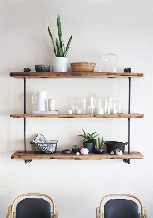 30 Awesome Industrial Shelves And Racks For Any Space | DigsDigs .