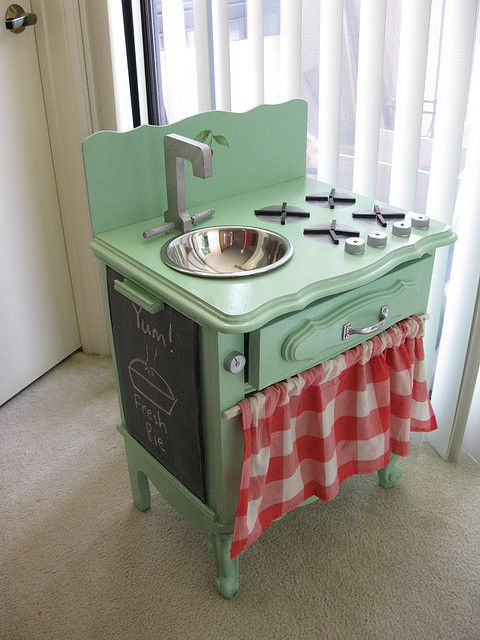 New Bowl   Diy play kitchen, Upcycled furniture, Kids kitch
