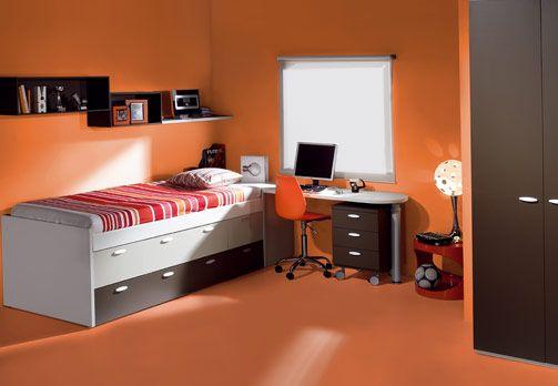 Pin on Orange Kids Room Dec