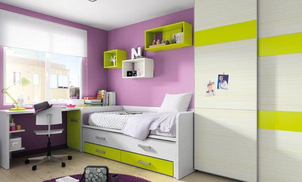 Vivid & Functional Kids' Rooms by Kibuc | Cool rooms, Girl room, Ro