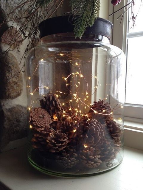 35 awesome outdoor and indoor pinecone decorations for christmas .